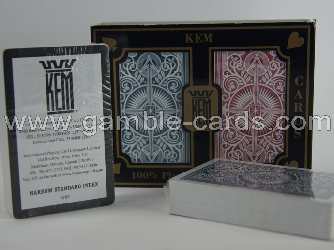 KEM marked cards