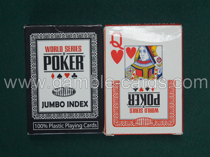 Modiano WSOP marked cards