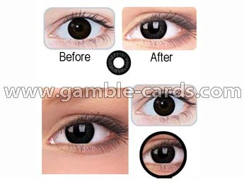 Contact lenses for black eyes