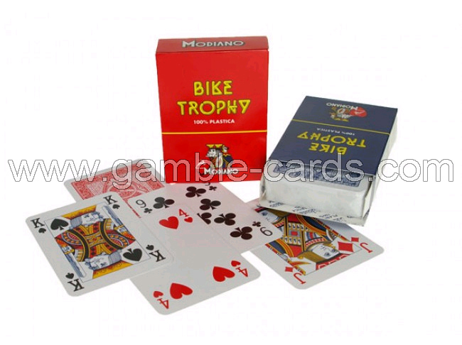 Modiano bike trophy style marked cards