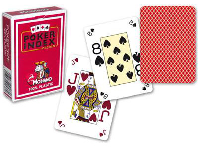 Modiano poker index marked cards